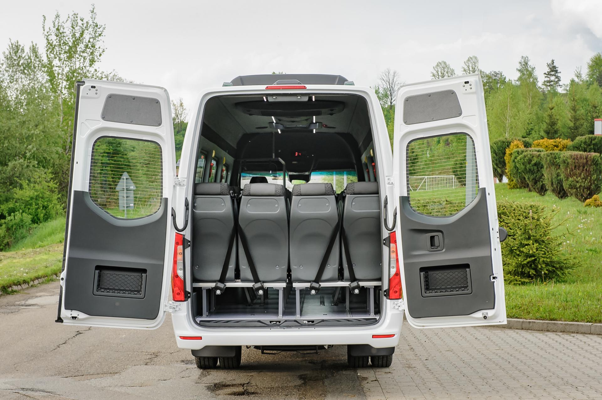 Mercedes Sprinter-bagage