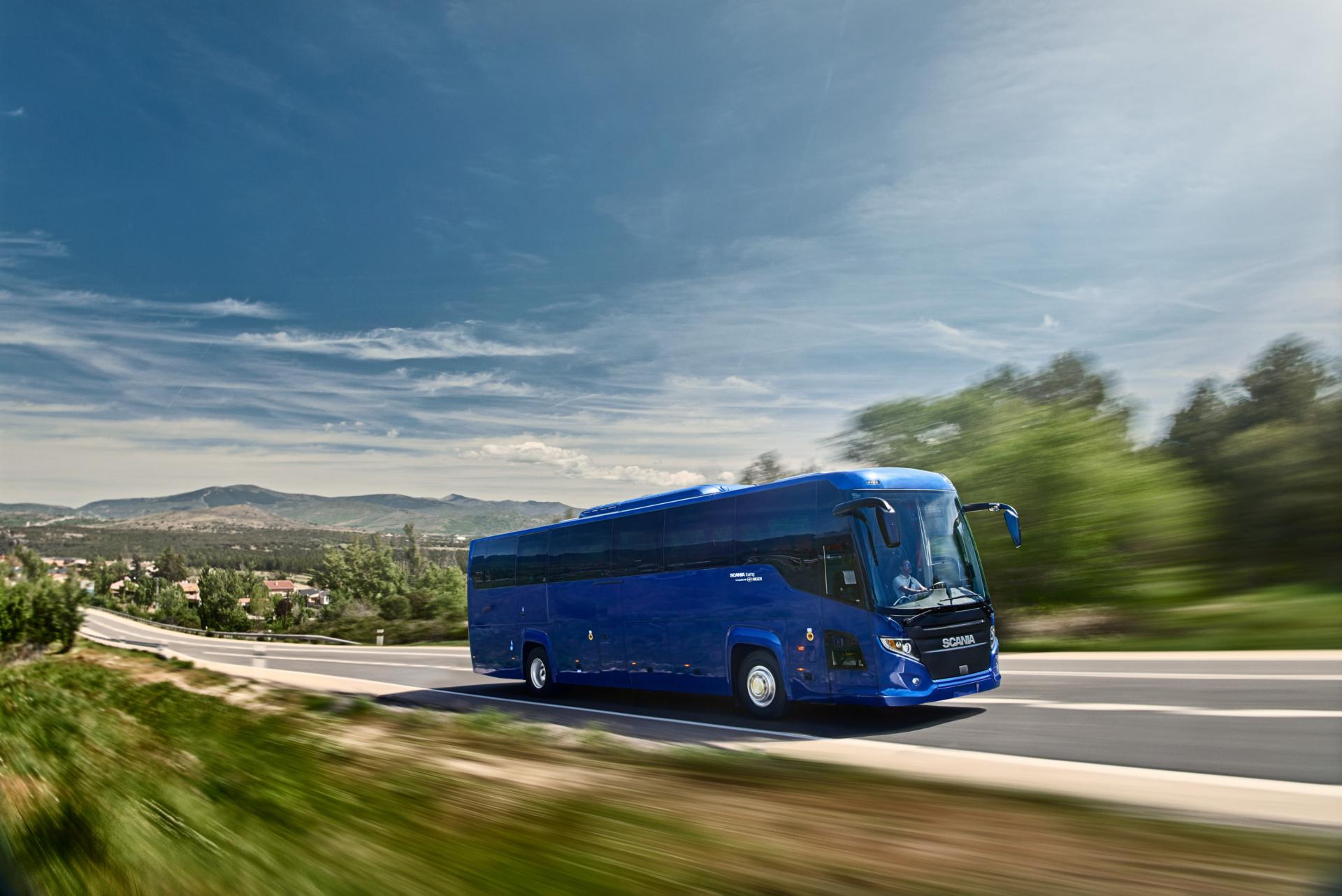 Scania Touring-turistbuss