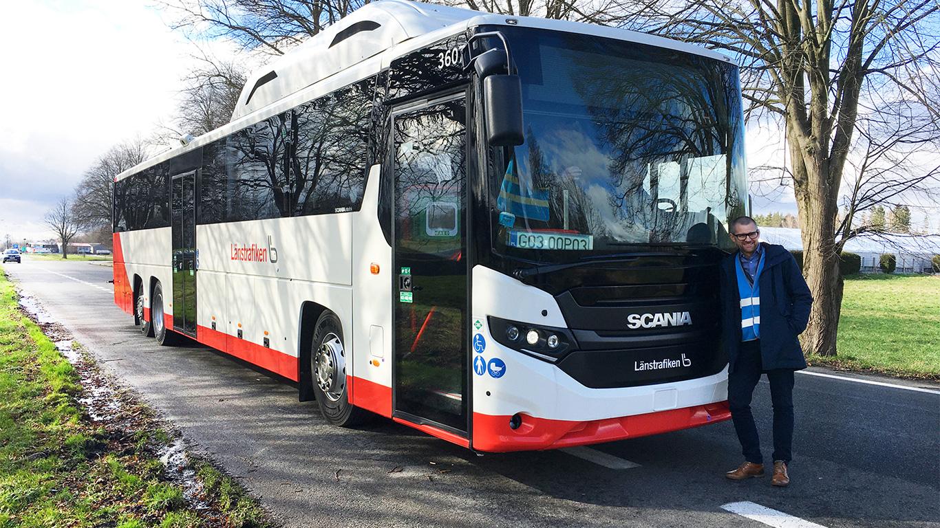 Scania buss
