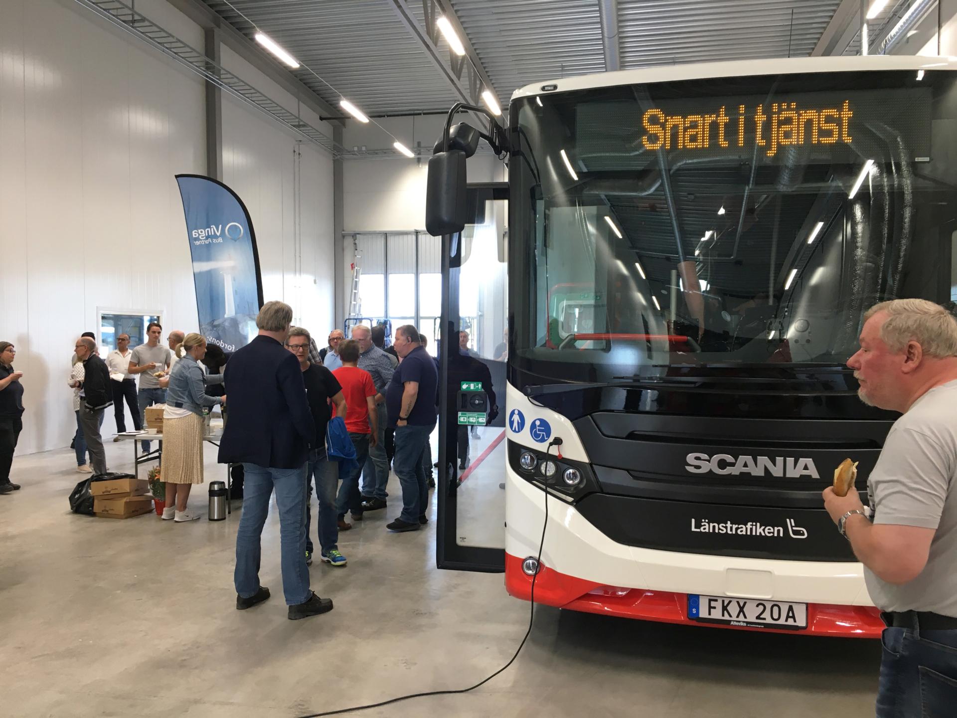 Förarutbildning av nya Scania bussar
